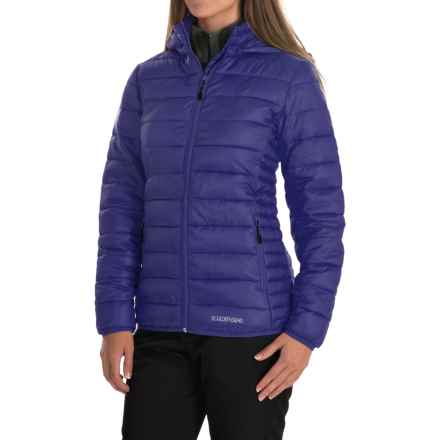 Boulder Gear D-Lite Puffer Jacket - Insulated (For Women) in Mystic Purple - Closeouts