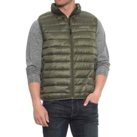Boulder Gear D-Lite Puffer Vest - Insulated (For Men) in Fatigue - Closeouts