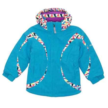 Boulder Gear Dreamy Jacket - Waterproof (For Little Girls) in Blue Waters - Closeouts