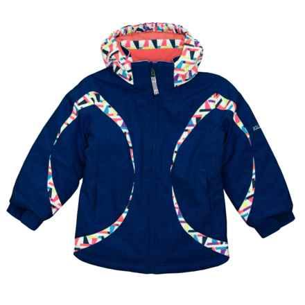 Boulder Gear Dreamy Jacket - Waterproof (For Little Girls) in Ink Blue - Closeouts