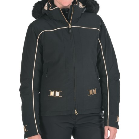 Boulder Gear Elite Jacket - Insulated (For Women) in Black/Gold
