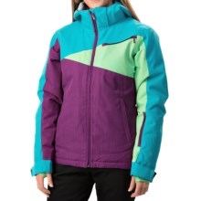Boulder Gear Garland Ski Jacket - Waterproof, Insulated (For Women) in Grape Juice/Blue - Closeouts