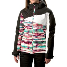 Boulder Gear Garland Ski Jacket - Waterproof, Insulated (For Women) in Spectrum/Black - Closeouts