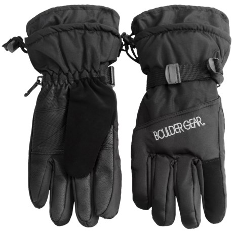Boulder Gear Gear Board Snow Gloves (For Women) in Black