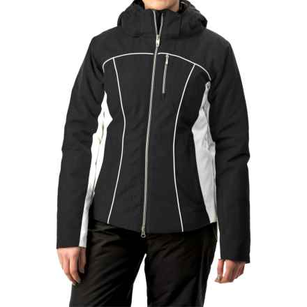 Boulder Gear Grace Snow Jacket - Waterproof, Insulated (For Women) in Black/White - Closeouts