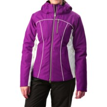 Boulder Gear Grace Snow Jacket - Waterproof, Insulated (For Women) in Grape Juice/White - Closeouts