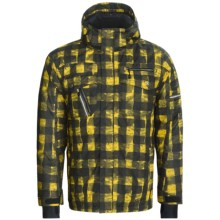 Boulder Gear Hazard Ski Jacket - Insulated (For Men) in Maize Buffalo - Closeouts