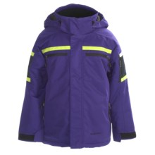 Boulder Gear Hurricane Jacket - Insulated (For Boys) in Purple Reign/Black/Citron - Closeouts