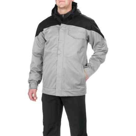 Boulder Gear Incline Tech Ski Jacket - Waterproof, Insulated (For Men) in Cement - Closeouts