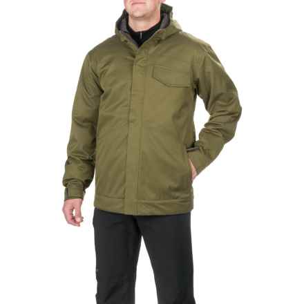 Boulder Gear Incline Tech Ski Jacket - Waterproof, Insulated (For Men) in Dark Olive - Closeouts