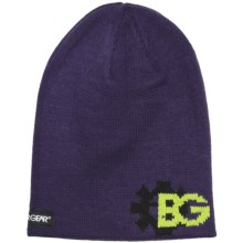 Boulder Gear Jacquard Beanie Hat (For Kids) in Purple Rain - Closeouts