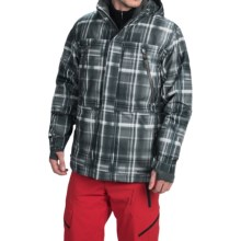 Boulder Gear Kent Ski Jacket - Waterproof, Insulated (For Men) in Gray Shadow Plaid/Gray - Closeouts