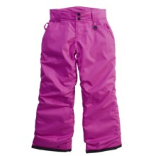 Boulder Gear Luna Ski Pants - Insulated (For Girls) in Viola - Closeouts