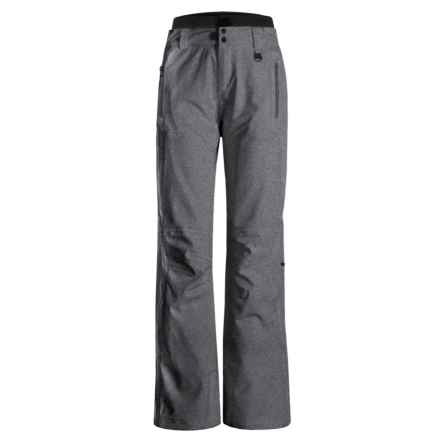 Boulder Gear Luna Ski Pants - Insulated (For Women) in Heather Gray Weave - Closeouts