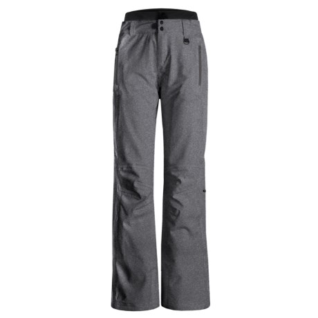 Boulder Gear Luna Ski Pants - Insulated (For Women) in Heather Gray Weave