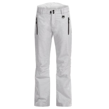 Boulder Gear Luna Ski Pants - Insulated (For Women) in White-Black Texture