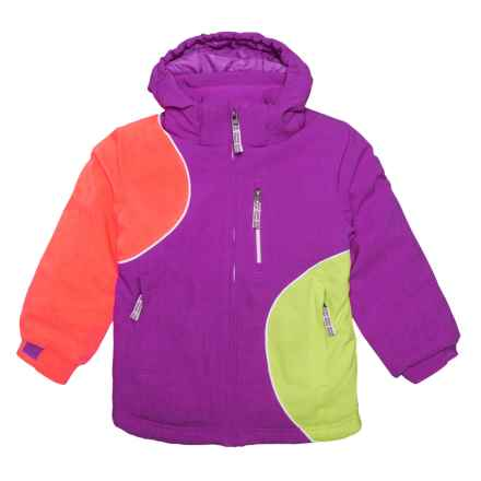 Boulder Gear Magical Ski Jacket - Waterproof, Insulated (For Little Girls) in Purple Cactus - Closeouts