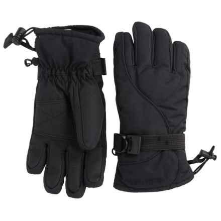 Boulder Gear Mogul II Gloves - Fleece Lined (For Big Kids) in Black - Closeouts