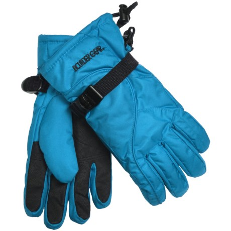 Boulder Gear Mogul II Gloves - Fleece Lined (For Kids) in Ice Blue