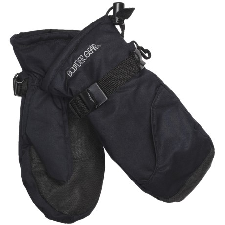 Boulder Gear Mogul II Mittens - Fleece Lined (For Kids) in Granite