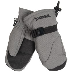 Boulder Gear Mogul II Mittens - Fleece Lined (For Kids) in Black