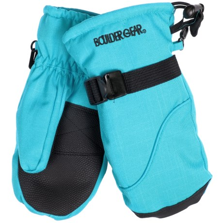 Boulder Gear Mogul II Mittens - Fleece Lined (For Little and Big Kids) in Blue Jewel