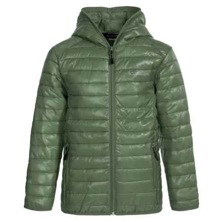 Boulder Gear Packable D-Lite Jacket - Insulated (For Big Boys) in Fatigue - Closeouts