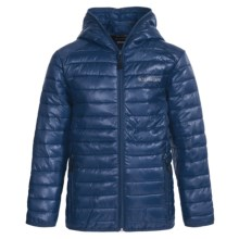 Boulder Gear Packable D-Lite Jacket - Insulated (For Big Boys) in Midnight Blue - Closeouts