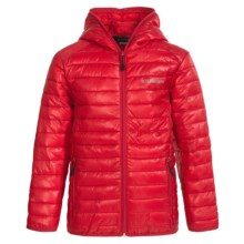 Boulder Gear Packable D-Lite Jacket - Insulated (For Big Boys) in Tango Red - Closeouts