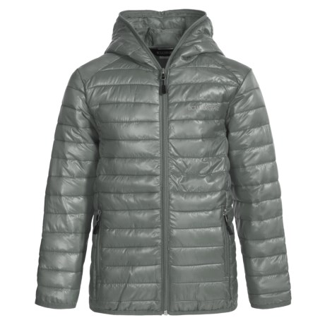 Boulder Gear Packable D-Lite Jacket - Insulated (For Big Boys) in Titanium