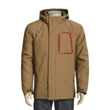 Boulder Gear Peak Jacket - Insulated (For Men) in Otter/Chilli - Closeouts