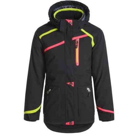 Boulder Gear Primo Jacket - Waterproof, Insulated (For Big Girls) in Black - Closeouts