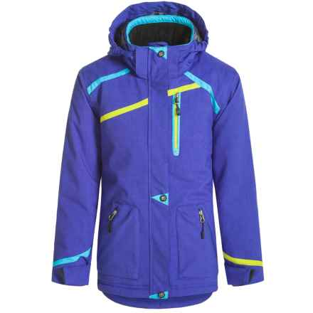 Boulder Gear Primo Jacket - Waterproof, Insulated (For Big Girls) in Electric Purple - Closeouts