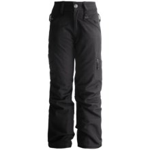 Boulder Gear Ravish Ski Pants - Insulated (For Little and Big Girls) in Black Texture - Closeouts