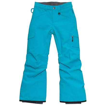 Boulder Gear Ravish Ski Pants - Insulated (For Little and Big Girls) in Blue Waters - Closeouts