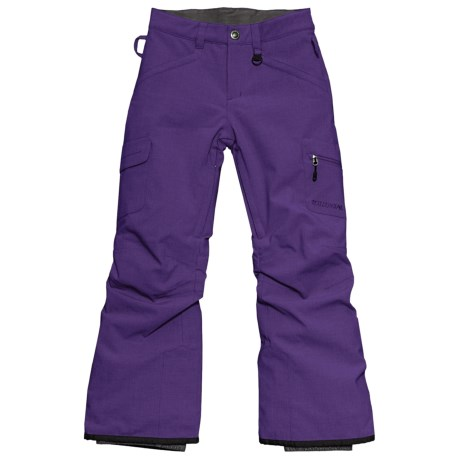 Boulder Gear Ravish Ski Pants - Insulated (For Little and Big Girls) in Eggplant