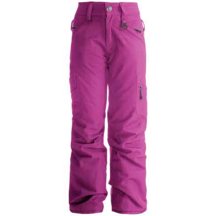 Boulder Gear Ravish Ski Pants - Insulated (For Little and Big Girls) in Pink Passion - Closeouts