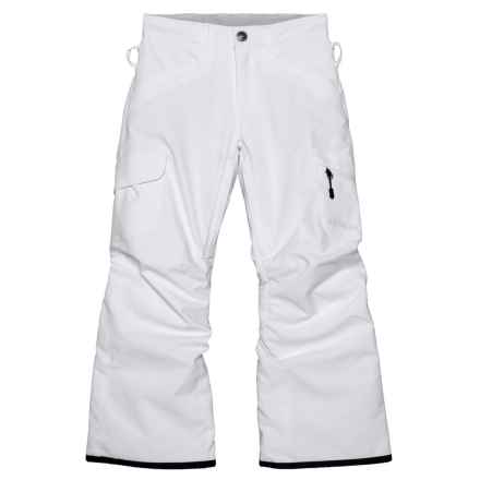 Boulder Gear Ravish Ski Pants - Insulated (For Little and Big Girls) in White - Closeouts