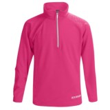 Boulder Gear Ruby Pullover Shirt - Zip Neck, Microfleece, Long Sleeve (For Girls)