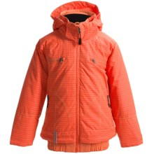 Boulder Gear Scout Ski Jacket - Waterproof, Insulated (For Girls) in Coral Woven/Coral - Closeouts