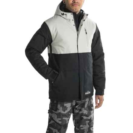 Boulder Gear Storm Ski Jacket - Waterproof, Insulated (For Men) in Cement - Closeouts
