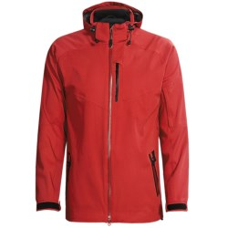 Boulder Gear Tech Shell Jacket - Waterproof (For Men) in Chilli/Black