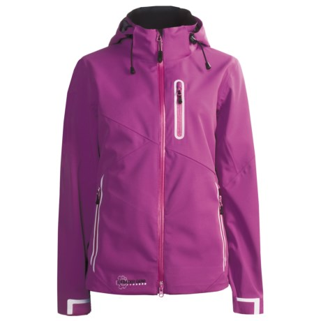 Boulder Gear Tech Shell Jacket - Waterproof (For Women) in Viola