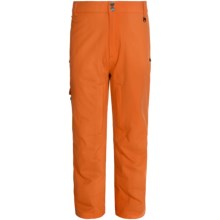 Boulder Gear Valiant Ski Pants - Waterproof, Insulated (For Men) in Burnt Orange - Closeouts