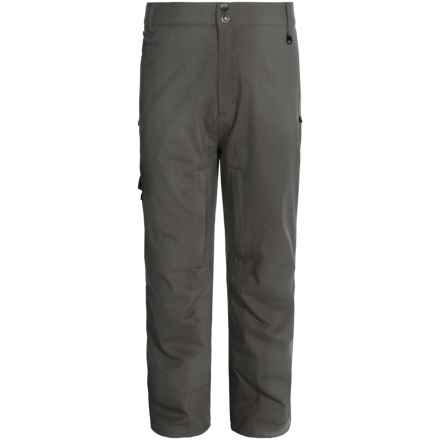 Boulder Gear Valiant Ski Pants - Waterproof, Insulated (For Men) in Gray Shadow/Black - Closeouts