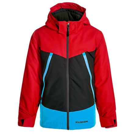 Boulder Gear Venturous Jacket - Waterproof, Insulated (For Big Boys) in Chili Pepper - Closeouts