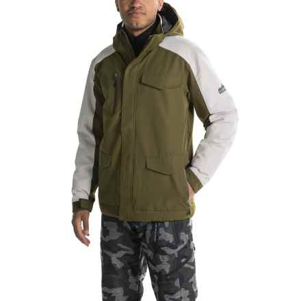 Boulder Gear Versa Ski Jacket - Waterproof, Insulated (For Men) in Dark Olive - Closeouts