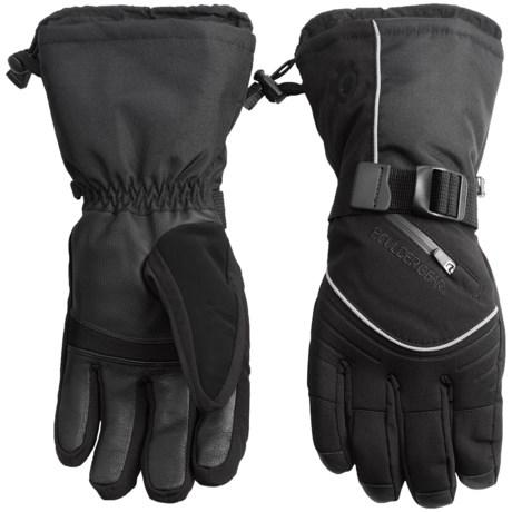 Boulder Gear Whiteout Gloves (For Men) in Black