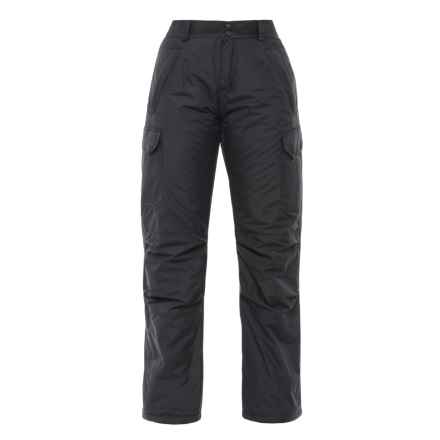 Boulder Gear Zephyr Cargo Ski Pants - Insulated (For Women) in Black - Closeouts