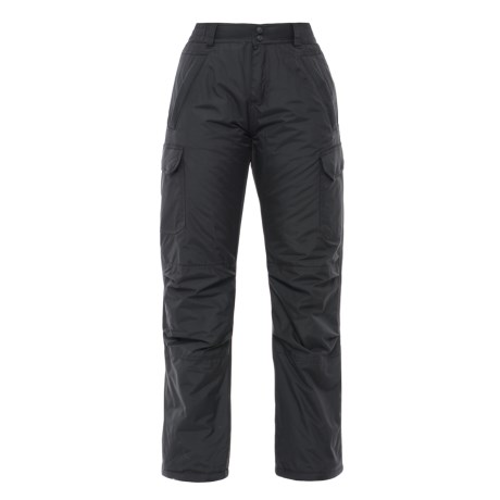 Boulder Gear Zephyr Cargo Ski Pants - Insulated (For Women) in Black